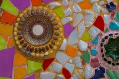 Kleurrijke muursamenvatting Royalty-vrije Stock Afbeelding