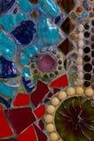 Kleurrijke muursamenvatting Royalty-vrije Stock Fotografie