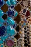 Kleurrijke muursamenvatting Stock Afbeeldingen
