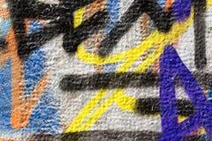 Kleurrijke muurtextuur Stock Foto's