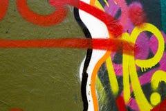 Kleurrijke muurtextuur Royalty-vrije Stock Foto