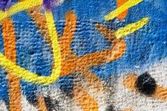 Kleurrijke muurtextuur Stock Afbeelding
