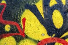 Kleurrijke muurtextuur Royalty-vrije Stock Fotografie