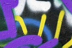 Kleurrijke muurtextuur Stock Foto