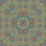 Kleurrijke naadloze abstractie Stock Fotografie