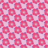 Kleurrijke naadloze bloemachtergrond vector illustratie