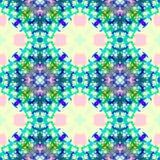 Kleurrijke naadloze patroonachtergrond Stock Afbeeldingen