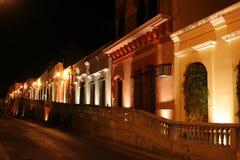 Kleurrijke Nacht Royalty-vrije Stock Afbeeldingen