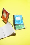 Kleurrijke Notitieboekjes Royalty-vrije Stock Foto's