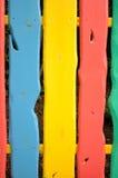 Kleurrijke omheining Royalty-vrije Stock Foto