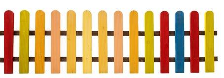 Kleurrijke omheining Stock Afbeelding
