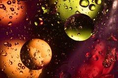 Kleurrijke ongebruikelijke achtergrond met cirkels Royalty-vrije Stock Afbeeldingen