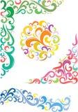 Kleurrijke ontwerpelementen Royalty-vrije Stock Afbeeldingen