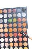 Kleurrijke Oogschaduw. Stock Foto