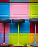 Kleurrijke openluchtscène Royalty-vrije Stock Afbeelding