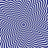 Kleurrijke optische illusie Stock Foto's
