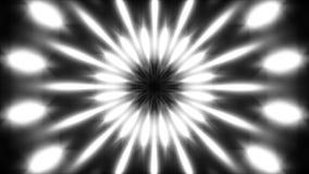 Kleurrijke opvlammende lichten, lijn royalty-vrije illustratie