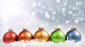 Kleurrijke ornamenten royalty-vrije stock afbeelding