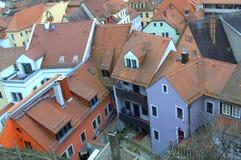Kleurrijke oude huizen Duitsland Stock Afbeelding