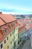 Kleurrijke oude stad Duitsland Royalty-vrije Stock Foto's
