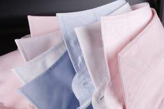 Kleurrijke overhemdskragen Royalty-vrije Stock Fotografie