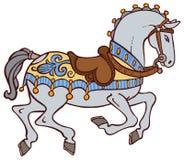 Kleurrijke paardvector Stock Afbeeldingen