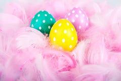 Kleurrijke Paaseieren Royalty-vrije Stock Afbeeldingen