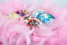Kleurrijke Paaseieren Royalty-vrije Stock Afbeelding