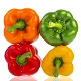 Kleurrijke paprika Royalty-vrije Stock Foto's