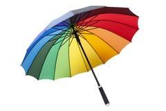 kleurrijke paraplu stock foto