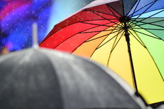 Kleurrijke paraplu Royalty-vrije Stock Fotografie
