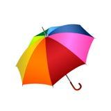 Kleurrijke paraplu royalty-vrije illustratie