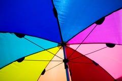 Kleurrijke paraplu royalty-vrije stock foto