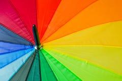 Kleurrijke paraplu - fashon achtergrond Stock Foto's