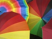 Kleurrijke paraplu's Stock Afbeelding