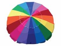 Kleurrijke parapluvector vector illustratie