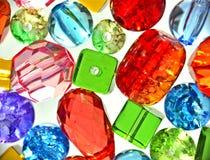 Kleurrijke parels Stock Afbeeldingen
