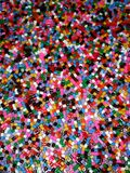 Kleurrijke parels Stock Foto's