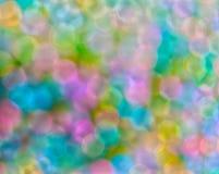Kleurrijke parels met bokeh abstracte lichte achtergronden Stock Foto
