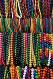 Kleurrijke parels voor meisjes en vrouwen Stock Foto's