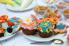 Kleurrijke partij Stock Foto's