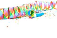 Kleurrijke partijdecoratie Stock Foto's