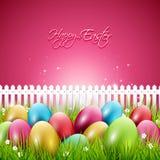 Kleurrijke Pasen-achtergrond vector illustratie