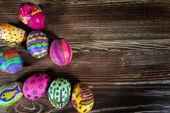 Kleurrijke Pasen Paschal Eggs Celebration stock fotografie