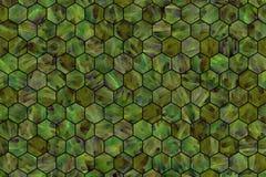 Kleurrijke patroon hexagon strook, achtergrond of textuur voor ontwerp royalty-vrije stock afbeeldingen