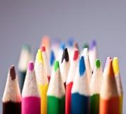 Kleurrijke pennen Royalty-vrije Stock Fotografie