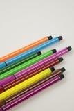 Kleurrijke Pennen Royalty-vrije Stock Afbeelding