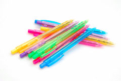 Kleurrijke pennen Royalty-vrije Stock Foto