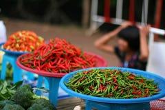 Kleurrijke peper royalty-vrije stock foto's