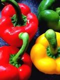 Kleurrijke peper Stock Foto's